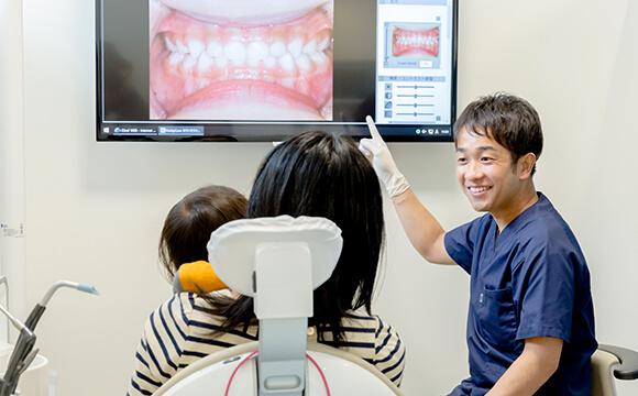 ご家族みんなで通える歯科医院