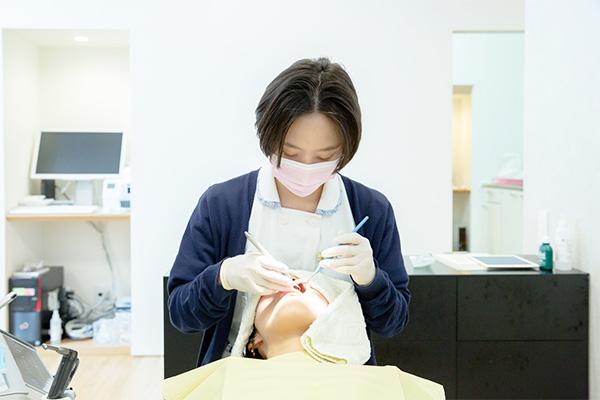 定期検診+歯磨き指導で虫歯・歯周病になりにくいお口へ